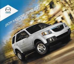 2011 Mazda TRIBUTE sales brochure catalog 11 US i s Escape - $6.00