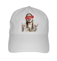 Post Malone Mobettertees Custom Print Dad Hat White Iverson Rockstar - $14.99+
