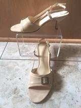 Trotters Patience Women Size US 8 Beige Croc Slingback Heel New NIB - $29.95