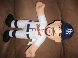 JUSTIN VERLANDER PLUSH BALL Brand New 2013 MLB Licensed Detroit Tigers s... - $39.99