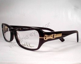 Nicole Miller Fulton Eggplant Plum Women Eyewear new Frame - $49.49