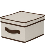 Household Essentials 511 Storage Box with Lid and Handle - Natural Beige... - $14.99+