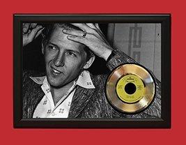 Jerry Lee Lewis Poster Art Wood Framed  45 Display C3 - $179.95