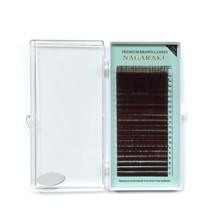 Brown False Eyelashes 7-15mm Mixed Length 0.07mm Thickness Makeup Lash E... - €8,18 EUR