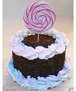 "Dezicakes Chocolate Lolli Pop Swirl Cake 6"" Faux Cake- Fake Food Decoration - €20,34 EUR"