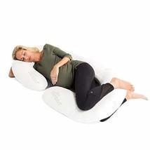 Zen Bamboo 1800 Series Full Body Pregnancy Pillow - Maternity & Nursing ... - $40.75
