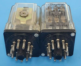 LOT OF 2 DAYTON 3X741A RELAYS 24VAC image 3