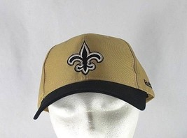 New Orleans Saints Gold/Black NFL Baseball Cap Adjustable - $24.99