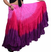 25 yard tribal skirts - tie dye skirts worldwide - $32.59+