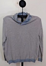 Tasso Elba Cloudy Heather Gray Men's Long Sleeve Turtleneck Sweater - XL - $375,56 MXN