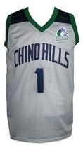 Lamelo Ball #1 Chino Hills Huskies Basketball Jersey New Sewn Grey Any Size image 4