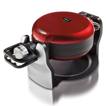 Oster DuraCeramic Non-Stick Double Flip Waffle Maker Red CKSTWF20R - $104.55 CAD