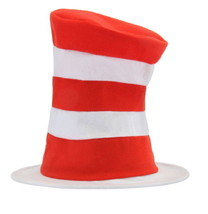 Dr. Seuss The Cat In The Hat Costume Cat Hat, Child/Kids Size NEW UNWORN - $14.50