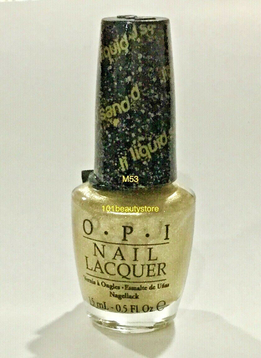 OPI Liquid Sand HONEY RYDER 0.5oz **NEW**