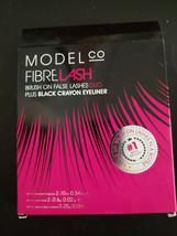 Model Co FIBRE LASH Brush on False Lashes Duo 2-pack and 1 Crayon Eyelin... - €16,99 EUR
