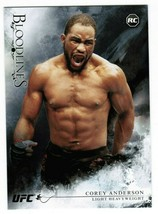 2014 Topps UFC Corey Anderson #5 Bloodlines Black /25 MMA  - $15.00