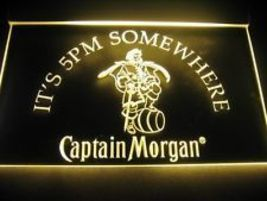neon  light sign Captain Morgan  pub bar beer man cave  - $32.99
