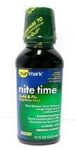 Sunmark Nite Time Cold & Flu Liquid Original Flavor, 12 oz, Compares to ... - $11.87