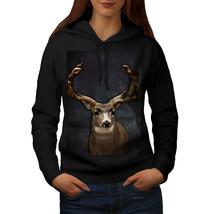 Beast Wild Animal Deer Sweatshirt Hoody Buck Male Women Hoodie - $21.99+