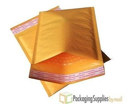 """500 #0 6x10 Poly Air Kraft Bubble Mailers Padded Envelopes Bags 6"""" x 10""""  - $71.23"""