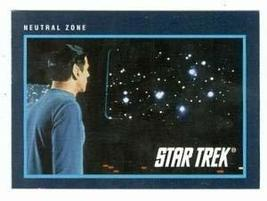 Star Trek card #295 Neutral Zone Spock Leonard Nimoy - $3.00