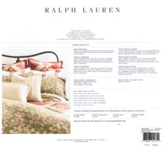 Queen Flat Sheet, Ralph Lauren, Tan Sage, 100% Cotton - $39.99