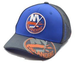 New York Islanders Reebok M944z NHL Hockey Playoff Stretch Fit Cap Hat  - $21.95