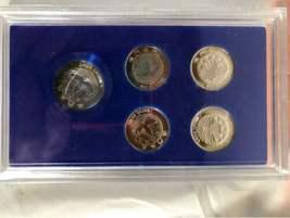 Lot China Chinese Collectibles Signed Print Old Man Macau Coin Panda Metal Ball image 12