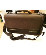 Black Bose SoundDock Carrying BAG ONLY Portable Travel Case with strap - $34.64