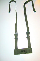 US ARMY MILITARY SURPLUS VIETNAM ERA 1962 OD FIELD PACK ADAPTER ASSEMBLY... - $16.24