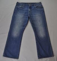 Men's AMERICAN EAGLE Medium Wash Boot Cut Jeans size 40x32 Actual 40x31 - $359,84 MXN