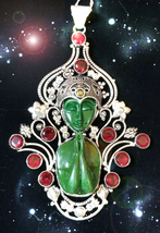HAUNTED NECKLACE ALEXANDRIA HECATE GRANTS YOU RICHES HIGHEST LIGHT MAGICK - $4,335.11