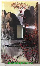 Famous Chinese Landscape Painting Light Switch Outlet Duplex Wall Cover Plate image 1