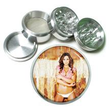 Farmers Daughter Pin Up Girls D9 63mm Aluminum Kitchen Grinder 4 Piece Herbs - $13.81