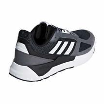 Brandneu Herren Adidas Run 80S Laufen Sportschuhe Dunkelgrau Schwarz/Weiß/Grau image 2