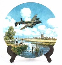 Royal Doulton Lancaster Low Overhead Heroes of the Sky Lancaster plate C... - $36.55