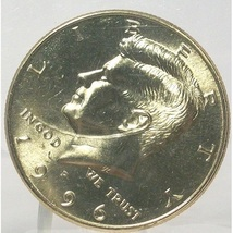 1996-P Kennedy Half Dollar BU In the Cello #0682 - $5.29