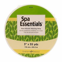 """Graham Professional Spa Essentials Non-Woven Roll Waxing Strips- 3"""" x 55 Yards"""