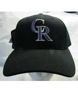 NWT MLB PUMA RAISED WOOL REPLICA HAT - COLORADO ROCKIES BLACK - $12.95