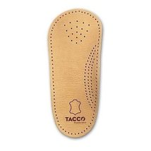 Tacco 650 3/4 Elastic Leather Insoles Footbed RelaxFlex Arch Support Orthotics f - $12.95