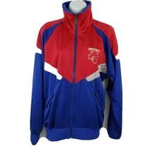 Descente Japanese Track Jacket Mens Size L Red Blue - $148.49