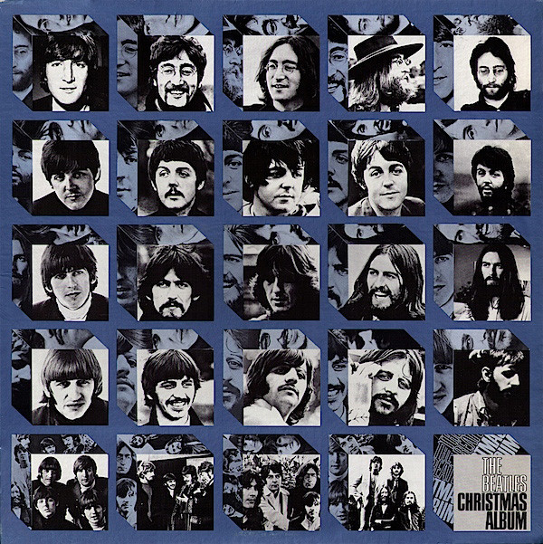 Beatles christmas album front cover hd print this one only