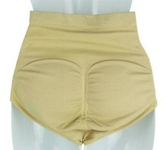 NEW WOMEN'S ROSA AIR FLO PADDED BUTT SHAPER BOOSTER PANTY BEIGE #3363 image 2