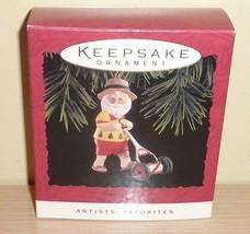 1994 Hallmark Ornament ~ Keep on Mowin - $2.92