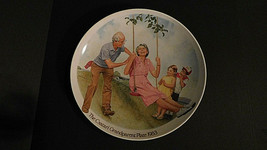 Knowles Fine China,The Csatari Grandparent Plate,1983,**The Swinger**#B9585 - $14.84