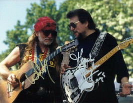 Willie Nelson Waylon Jennings Signed Photo 8X10 Rp Autographed Country Legends - $19.99
