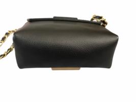 Valentino Black Leather Gold Stud Rockstud Small Glam Lock Crossbody Bag Purse image 8