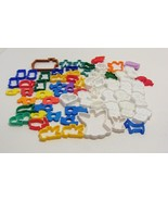 Mixed Lot Play Doh Playskool Shapes Molds Compound 40+ Pieces - $9.99