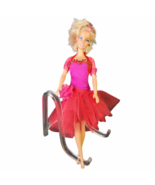 1998 Barbie Spike Blond Hair Red Dress FREE SHIPPING New Cond No Box - $15.00