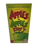MATTEL Apples To Apples Kids 7+ Edition Quick Family Board Game #N1389 C... - $18.97